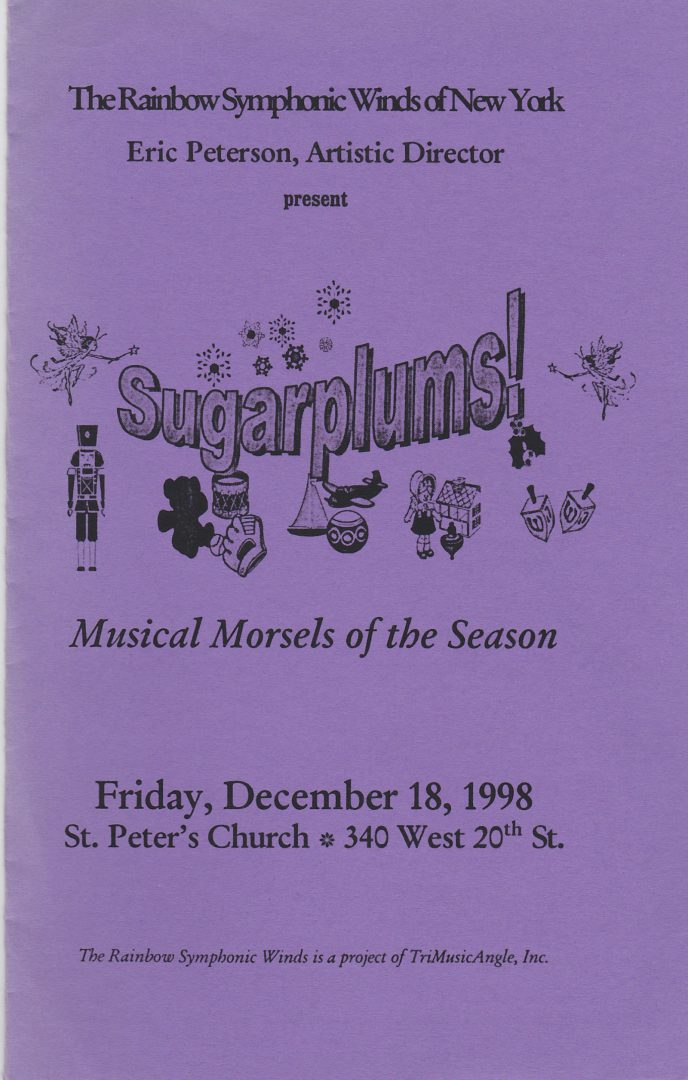 1998-12-18 Cover Sugarplums