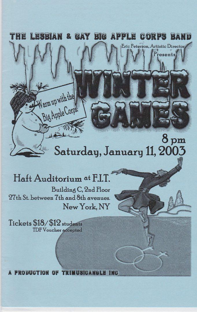2003-01-11 Cover WinterGames