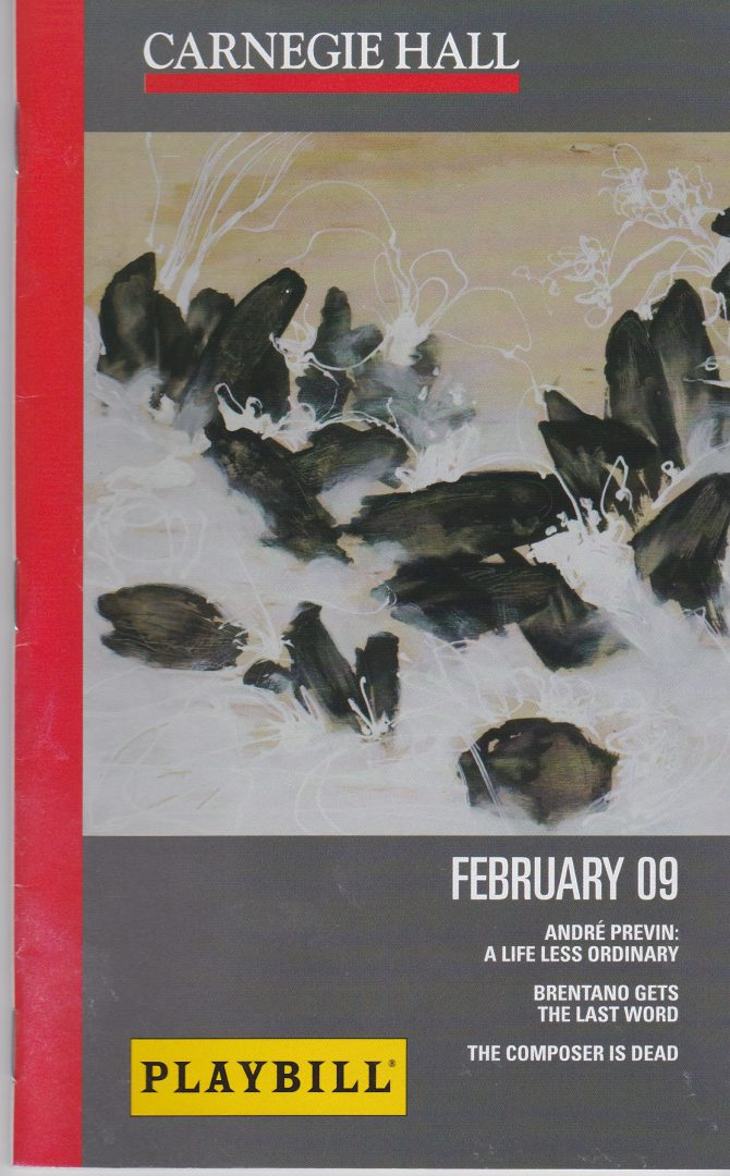 2009-02-15 Cover CarnegieHall